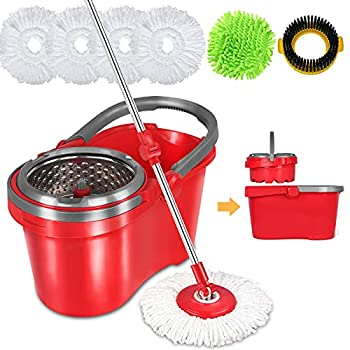 Hapinnex Spin Mop Bucket Set Review