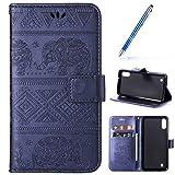 Robinsoni Custodia Compatibile con Samsung Galaxy A10 Cover Libretto Samsung Galaxy M10 Co...