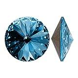 Swarovski Elements Rivoli Perles en cristal #1122 12 mm aigue-marine SF (4)