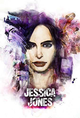 Desconocido Jessica Jones Serie de TV Póster Foto Series Krysten...
