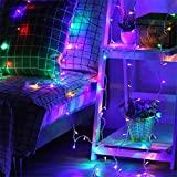 LEDジュエリーライト イルミネーションライト (RGB, 10M100球8モード)