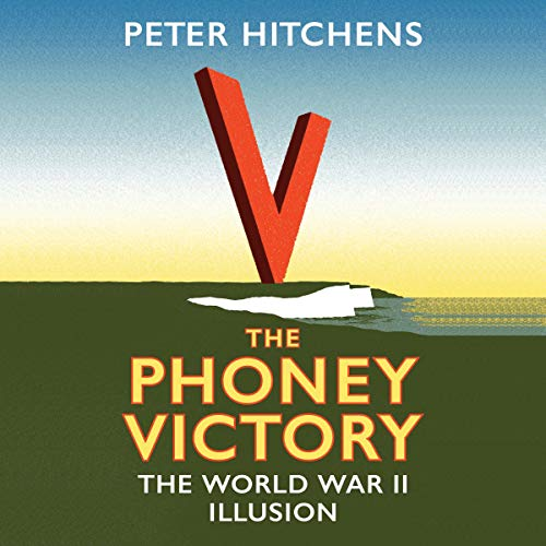 The Phoney Victory audiobook cover art