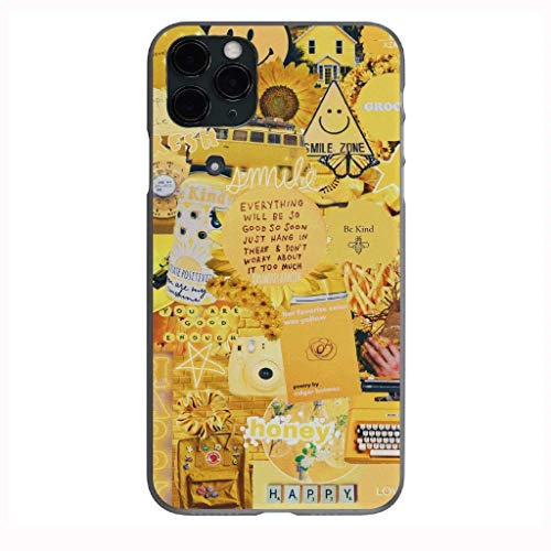 Vsco Yellow Collage Case for iPhone Galaxy Phone Shockproof Case Cover