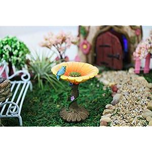 nw wholesaler miniature fairy garden flower birdbath