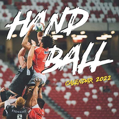 Handball Calendar 2022: Special Calendar & Planner (18 Months Calendar)
