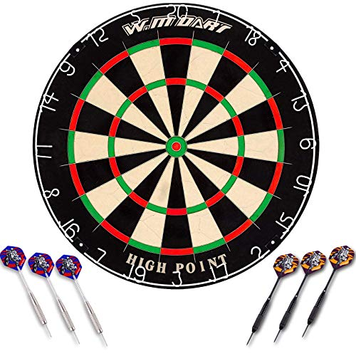 WIN.MAX Bristle Steel Dartboard - 8