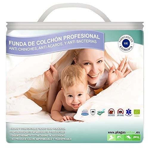 Fundas Anti Chinches, Ácaros y Bacterias - Protector Almohada (40x75)
