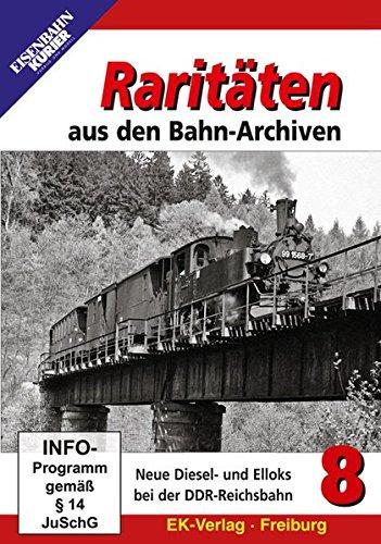 Raritäten aus den Bahn-Archiven 8 - Neue Diesel- und Elloks bei der DDR-Reichsbahn