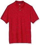 Amazon Essentials Polo Piqué de Algodón de Ajuste Regular Shirts, Azul Marino/Blanco (Navy/White Dot), US S (EU S)