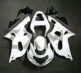 ZXMT Motorcycle Fairing Kit Unpainted Fairings for Suzuki GSXR600 GSXR750 K1 (2001-2003)