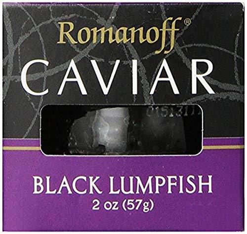 Romanoff, Caviar Black Lumpfish, 2 oz