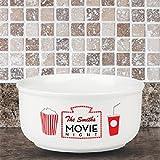 Personalized Family Name Movie Night Popcorn Bowl