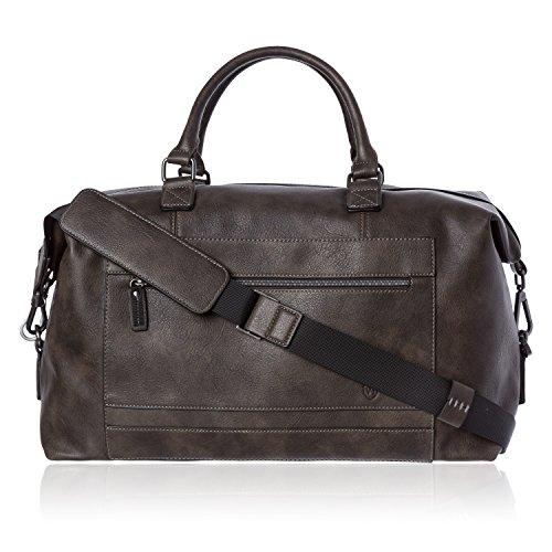 VON HEESEN Reisetasche Weekender Bag Reisegepäck Handgepäck Tasche mit Trolleyfunktion...