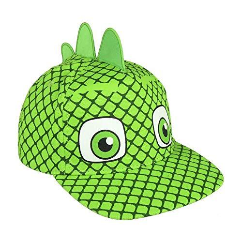 PJ Masks Pyjamahelden 2200002877 Cap, Baumwolle, Kinder, 3D-Effekt, Gecko