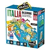 Headu- Italia da Scoprire Puzzle, Multicolore, IT23110...