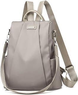 LKLXZD Casual Women Backpack Ladies Rucksack Waterproof Anti-Theft PU Leather BackpackCasual Travel Shoulder Bag Anti-Theft Schoolba Black Multi-Purpose,Fashion,Leisure,Travel,Casual