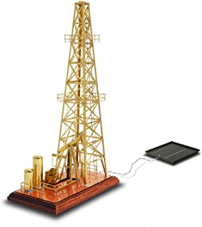 Solarts Oil Derrick OD-8 - Solar Powered Model/Executive Gift