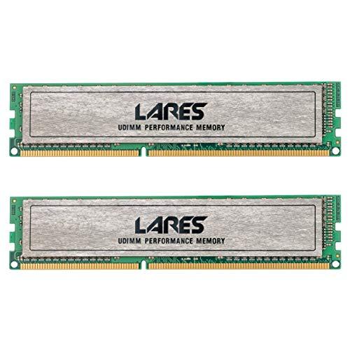 LEVEN DDR3 16GB KIT (2×8GB) 1600MHz PC3-12800 CL11 ungepuffertes Nicht-ECC UDIMM 240 Pin PC-Computer Desktop-Speichermodul Ram Upgrade- Lares(JR3UL1600172308-8M*2)