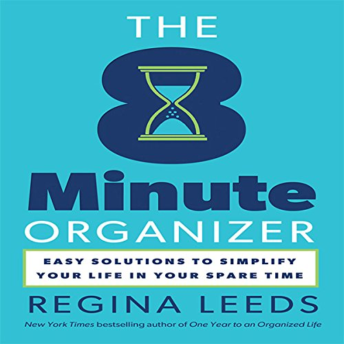 The 8 Minute Organizer audiobook cover art