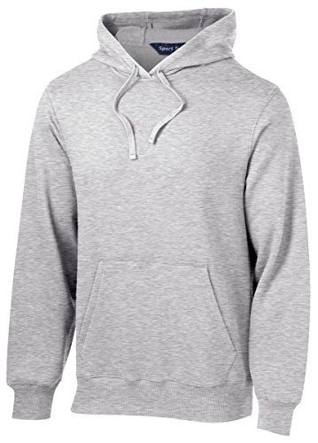 Sport Tek Tall Pullover Hooded Sweatshirt-XLT (Athletic Heather) by Sport-Tek