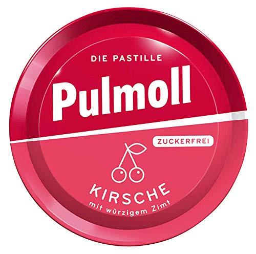 Pulmoll Wildkirsche Zuckerfrei, 10er Pack (10 x 50 g Dose)