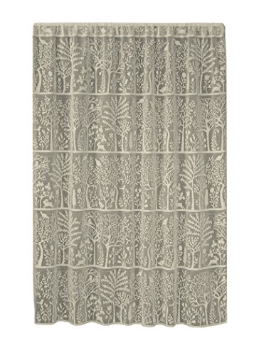Heritage Lace Rabbit Hollow Panel, 60 by 84-Inch, Cafè