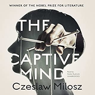 The Captive Mind audiobook cover art