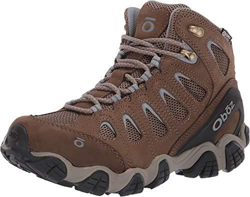 Oboz Sawtooth II Mid B-Dry Hiking Boot - Women's Brindle/Tradewinds Blue 11