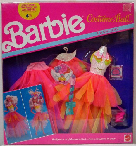 Barbie Costume Ball Fashions - 2 Costumes BALLGOWN or BIRD (