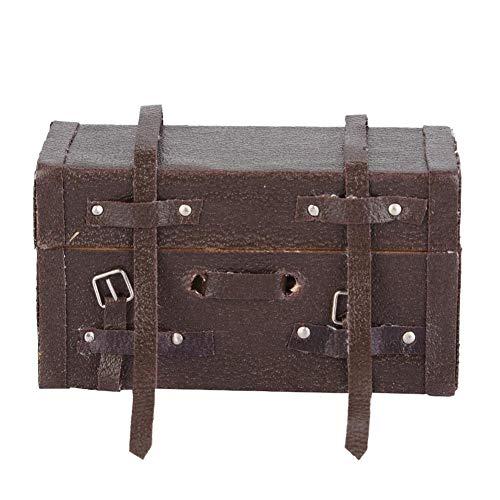 RC Gepäckbox, Holz Maßstab 1/10 RC Kletterwagen Modell Gepäck Tasche für RC4WD D90 D110