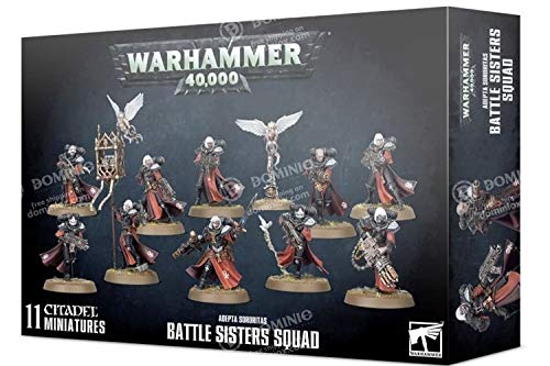 Games Workshop Warhammer 40,000: Adepta Sororitas Battle Sisters Squad