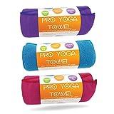 Limber Stretch Tovagliolo di stuoia Yoga - Microfibra Bikram Hot Yoga Asciugamano - Non Sl...