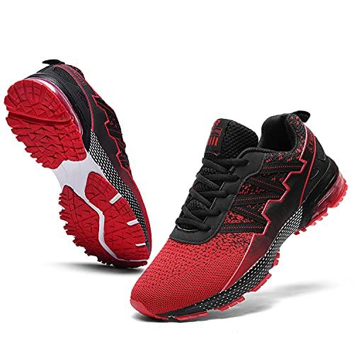 Ahico Zapatillas de Deporte para Correr Hombres Tenis Zapatos Ligero Moda Caminar...