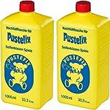 Pustefix Set de Pompas de Jabón (2 X Botella de Recambio)
