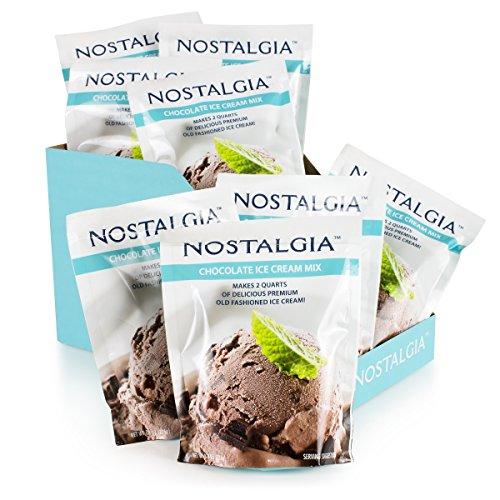 Nostalgia ICP825CHOC8PK Premium Chocolate Ice Cream Mix