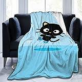 Chococat Fleece Blanket Throw Size Lightweight Super Soft Cozy Luxury Bed Flannel Blanket Microfiber - 60'X50'