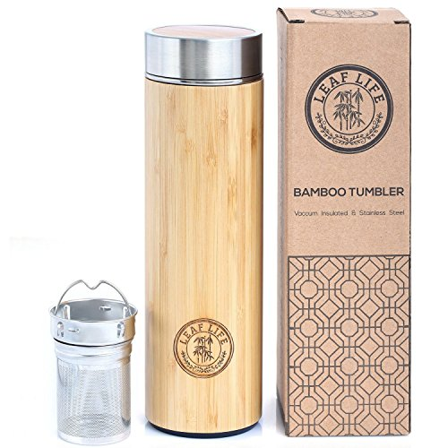 Original Bamboo Tumbler with Tea Infuser...
