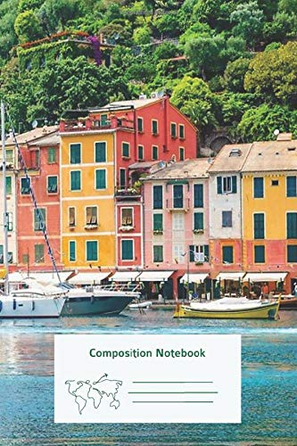 Composition Notebook: Portofino Primary Composition Notebook Story Journal