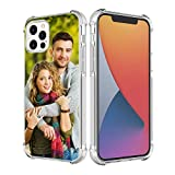 SHUMEI Custom Case for Apple iPhone 12 Pro MAX 6.7 inch Cover Anti-Scratch Soft TPU Clear Personalized Photo Make Your Own Picture Phone Cases
