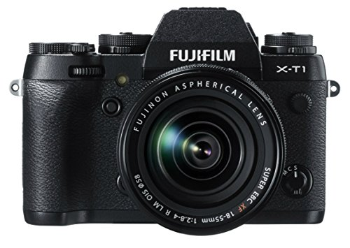 Fujifilm X-T1 16 MP Mirrorless Digital Camera with 3.0-Inch LCD and XF 18-55mm F2.8-4.0 Lens (Renewed)