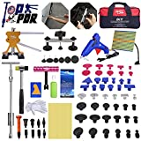 Fly5D Complete Paintless Auto Dent Removal Tools Set, Repair of Dents with Different Aluminum Dent Pull Tabs Can Be Reused Countless Times Dent Puller Kit for Anybody…