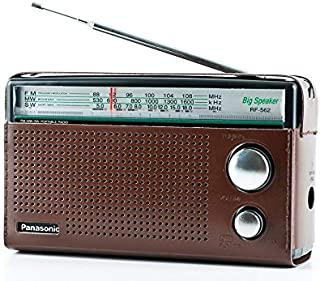 Panasonic 3 Band Portable Radio (Model: Rf-562Dgc1-K), Brown