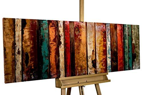 Kunstloft Extravagante Relieve de Pared de Metal Flashy Wood