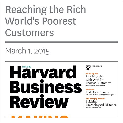 Reaching the World's Poorest Consumers (Harvard Business Review) audiobook cover art