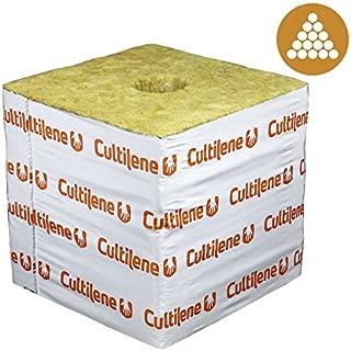 Horticulture Source Cultilene Rockwool Blocks-6 x 6 x 4 in. (case of 64 pieces) dl-CUL664