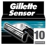 Gillette Sensor Rasierklingen Für Männer, 10Stück