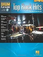 Top Rock Hits: Drum Play-Along Volume 49 (Hal Leonard Drum Play-Along)
