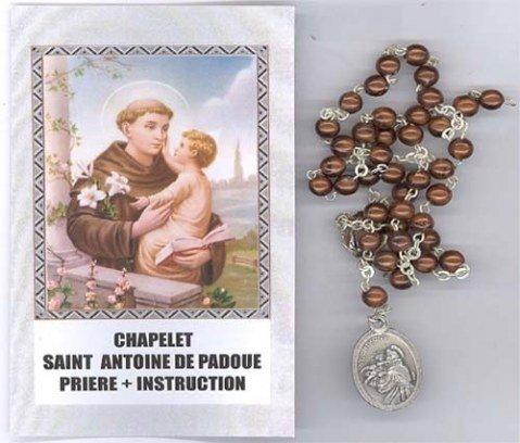 Chapelet de Saint Antoine de Padoue (Prière et Instructions)