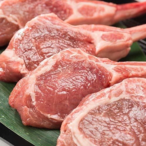 【北海道のお肉】ラムフレンチラック 3本入り(約200g前後)【産地肉の山本】