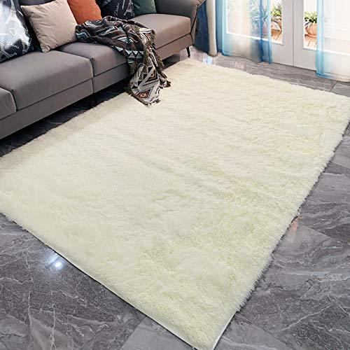 marca blanca Alfombra suave y esponjosa, super antideslizante interior esponjosa, adecuada para la moderna alfombra tradicional de salón y dormitorio grande de 50 x 80 cm.